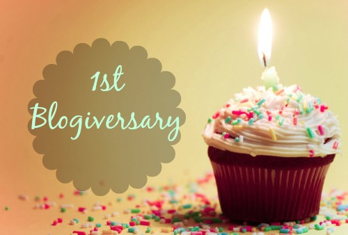 Happy Blogiversary to Us